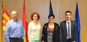 Signatures de conventions d'accueil avec des lycées français en Europe