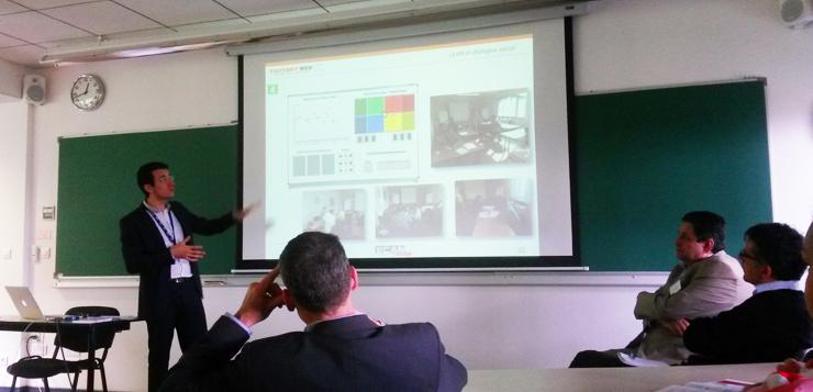 Atelier lean management, Factory'Nov, ECAM, dans le cadre du Parcours Enseignant Chercheur En Entreprise, 19 mai 2015.
