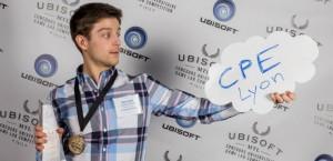 Alexis Girault, étudiant CPE Lyon, remporte un prix Ubisoft