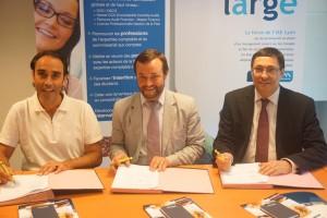 Partenariat IAE Lyon, Cnam Rhône-Alpes, et CREF